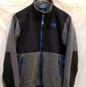 The North Face fleece coat, youth 14/16